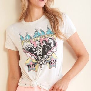 NWT Chaser Def Leppard Tee
